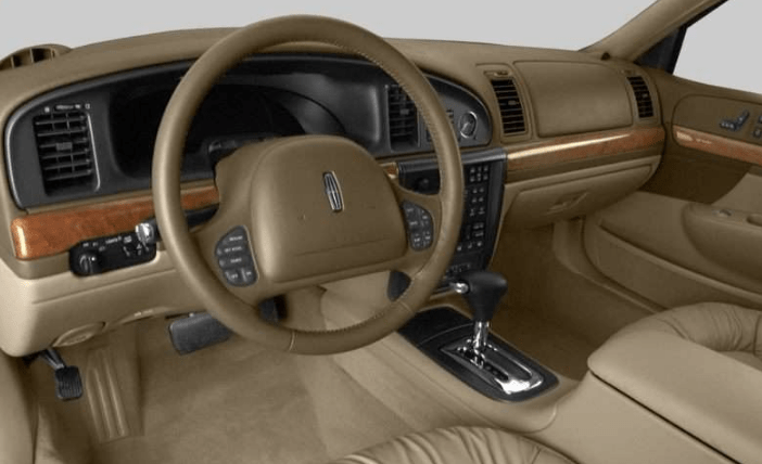 2002 Lincoln Continental Interior and Redesign