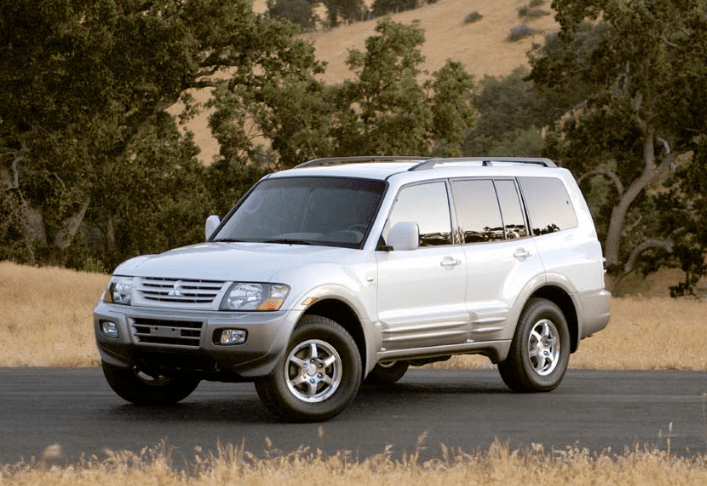 2002 Mitsubishi Montero Concept and Owners Manual