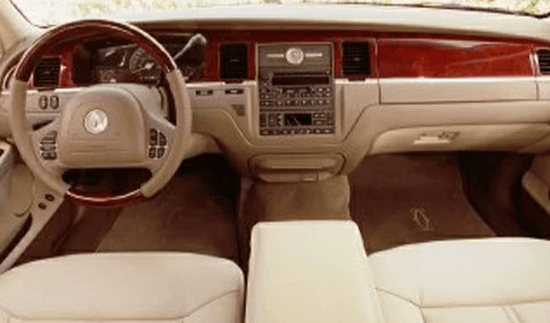 2003 Lincoln Town Car Interior and Redesign