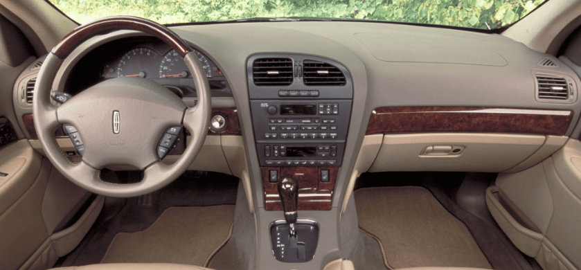 2004 Lincoln LS Interior and Redesign