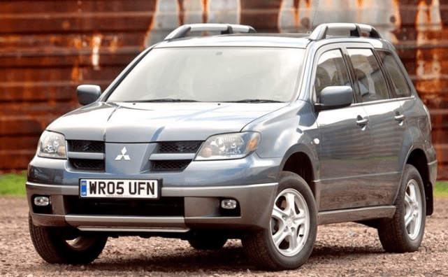 2004 Mitsubishi Outlander Concept and Owners Manual