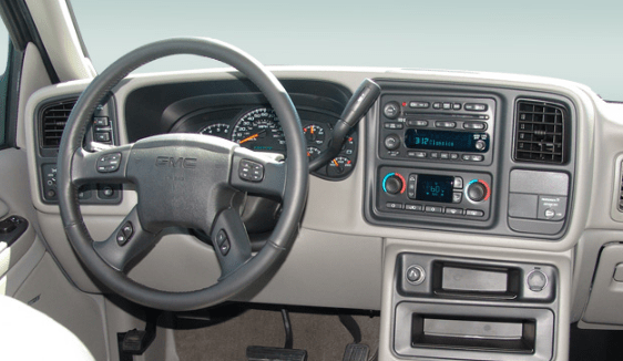 2005 GMC Sierra Interior and Redesign