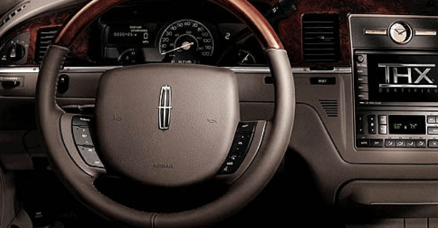 2007 Lincoln Town Car Interior and Redesign