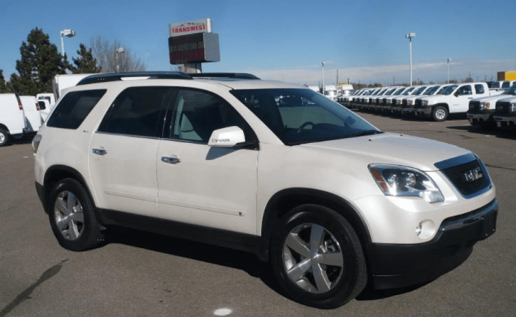 2009 GMC Acadia Concepot and Owners Manual
