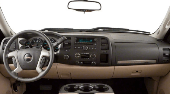 2010 GMC Sierra Interior and Redesign