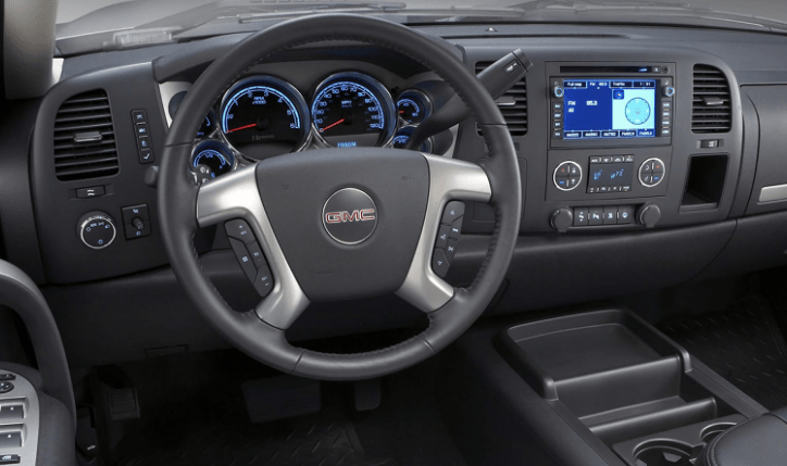 2011 GMC Sierra Interior and Redesign