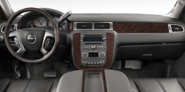 2012 GMC Yukon Interior and Redesign