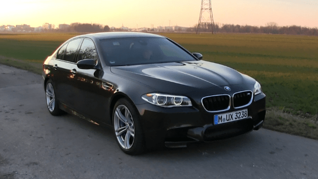 2016 BMW M5 Owners Manual
