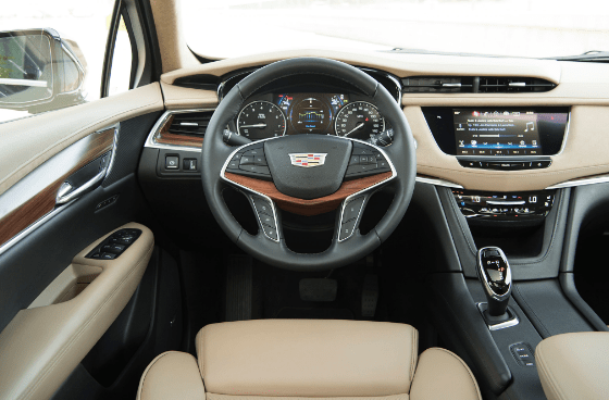 2017 Cadillac XT5 Interior and Redesign
