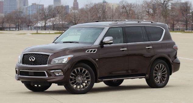2017 Infiniti QX80 Owners Manual and Concept