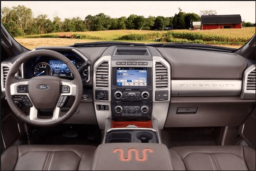 2018 Ford F-350 Interior and Redesign