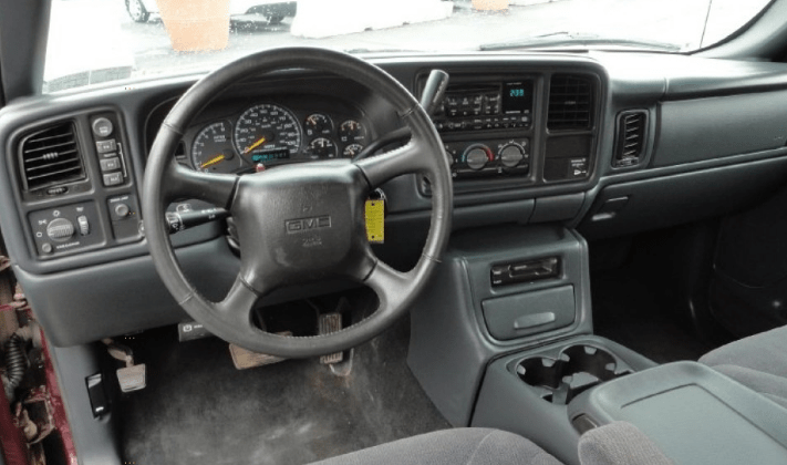 2000 GMC Sierra Interior and Redesign