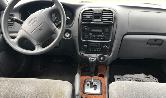 2001 Kia Optima Interior and Redesign