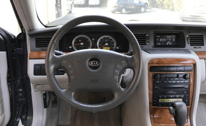 2004 Kia Amanti Interior and Redesign