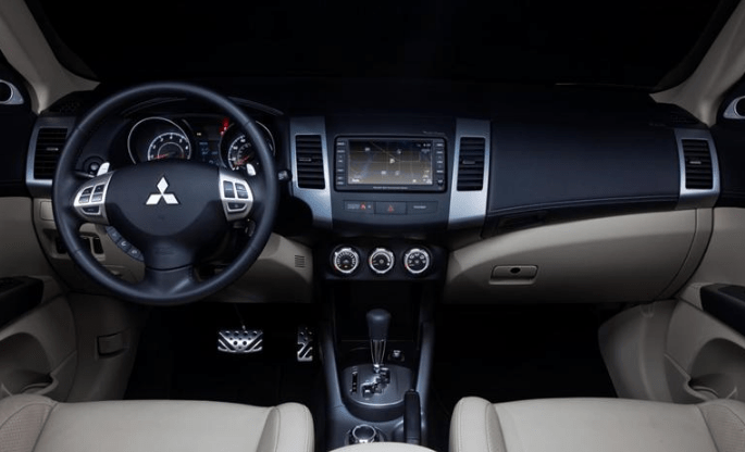 2012 Mitsubishi Outlander Interior and Redesign
