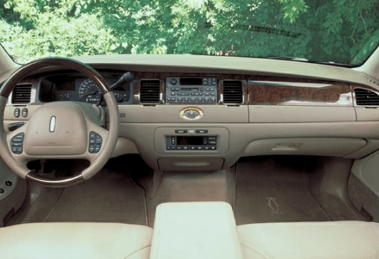 2002 Lincoln Town Car Interior and Redesign