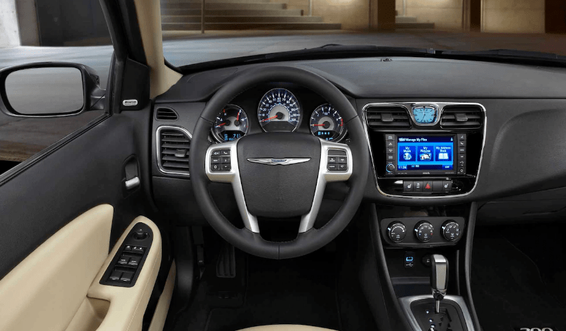 2013 Chrysler 200 Interior and Redesign