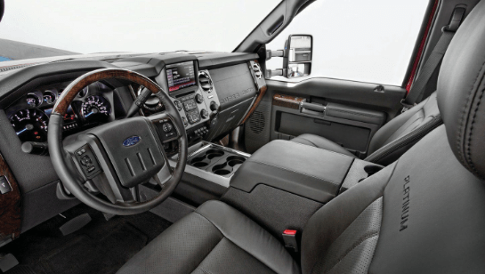 2015 Ford F-450 Interior and Redesign