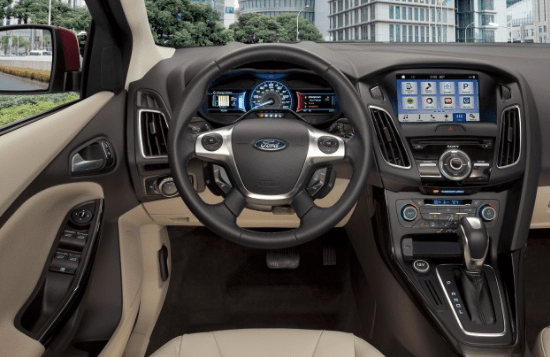 2015 Ford Focus Electric Interior and Redesign