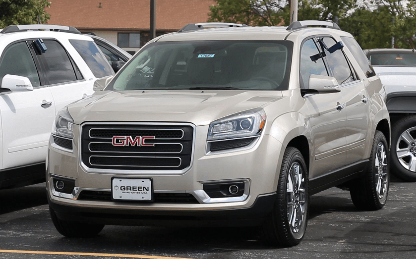 2017 GMC Acadia Limited Concept and Owners Manual