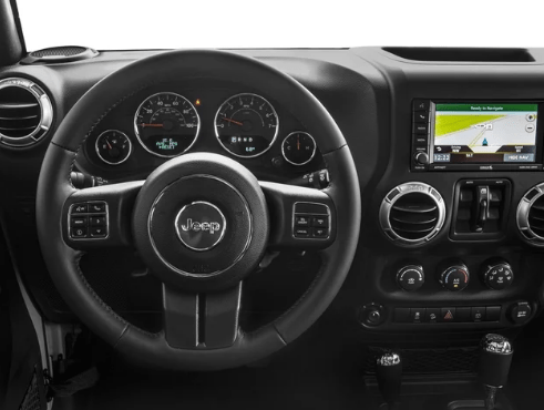 2017 Jeep Wrangler Unlimited Interior and Redesign