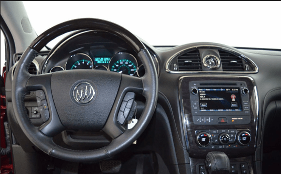 2016 Buick Enclave Interior and Redesign