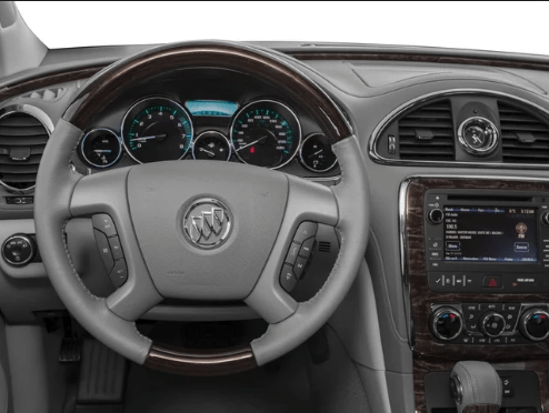 2017 Buick Enclave Interior and Redesign