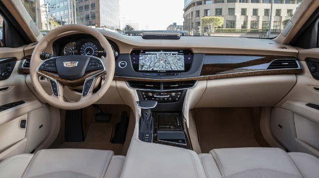 2017 Cadillac CT6 Interior and Redesign