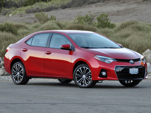 2015 Toyota Corolla Owners Manual and Concept