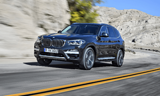 2018 BMW X3 Owners Manual