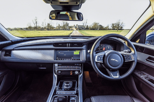 2018 Jaguar XF Interior