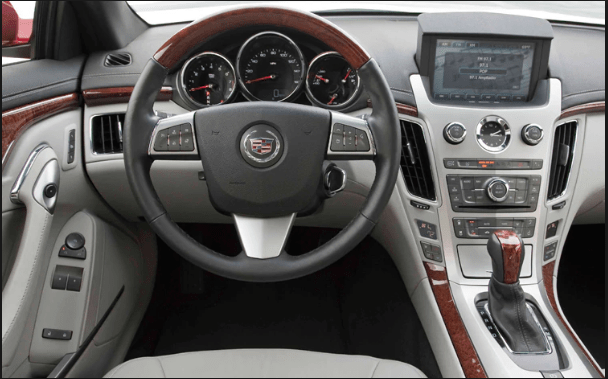 2011 Cadillac CTS Coupe Interior and Redesign