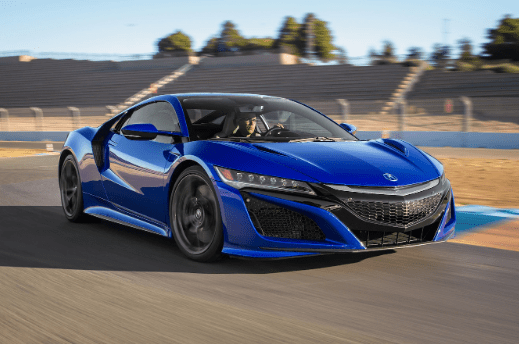 2017 Acura NSX Owners Manual