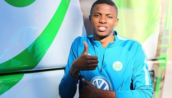 Image result for Osimhen returns to Wolfsburg training after injury
