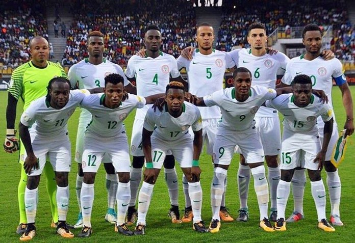 ab374eb0820 Super Eagles Coach Gernot Rohr Reveals Starting Line Up For Zambia Game
