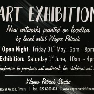 art exhibition love timaru