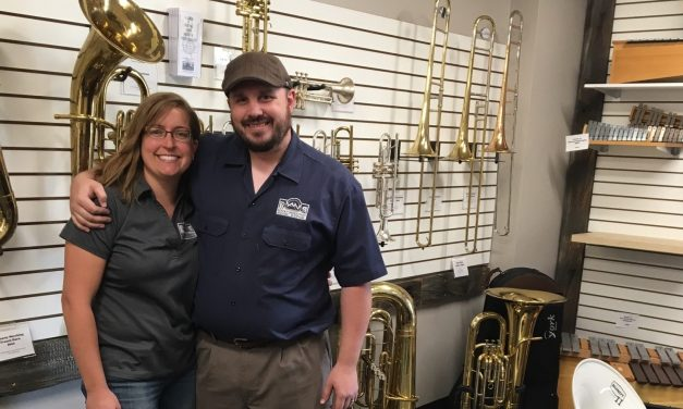 How A Couple, Their Dog And Baby Launched An Instrument Repair Biz In A Month