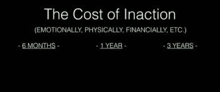 cost of inaction