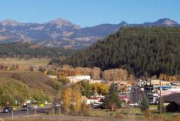 pagosa springs landscape
