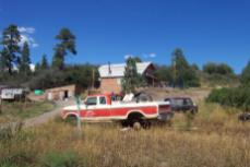 Aspen Springs home and Truck