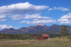 North Pagosa Springs residential Landscape