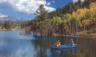 North Pagosa Springs on the lake