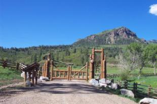Upper hwy 84 pagosa ranch gate