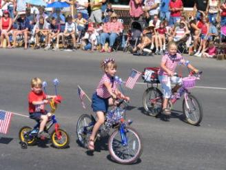 pagosa springs parade bicycles