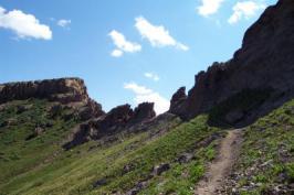 Pagosa springs mountain landscape