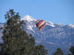 Pagosa springs hot air balloon