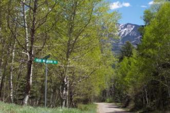 Blue Mountain Ranches street
