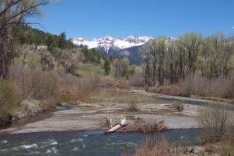 Blue Mountain Ranches river