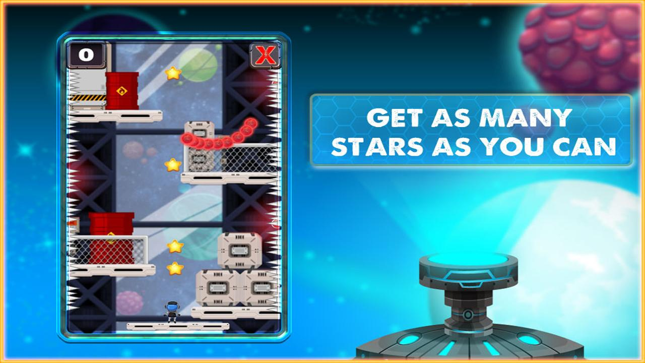 Space Rescue – Use your jet pack to avoid traps & escape