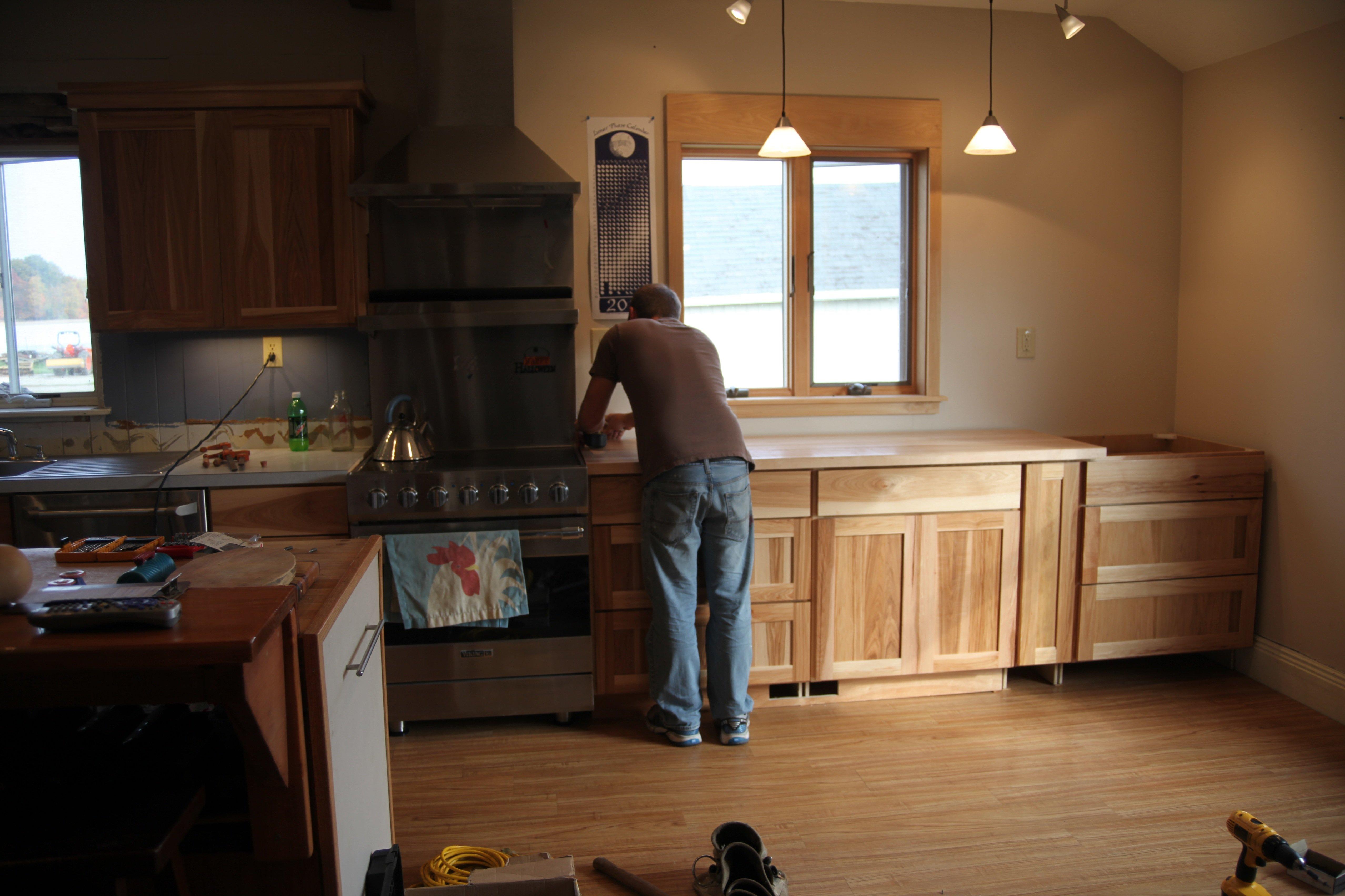 the work of kitchen #1